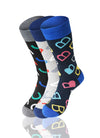 ASSORTED ABC 3 Pack Novelty Socks - URBANCREWS