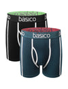 BLACKBLUE Assorted 2Pk Boxer Briefs - BASICO - URBANCREWS