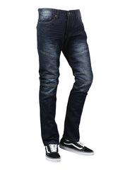 DKINDIGO Basic Color Moto Denim Jeans - URBANCREWS