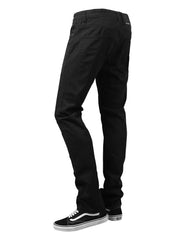 JETBLACK Basic Color Moto Denim Jeans - URBANCREWS