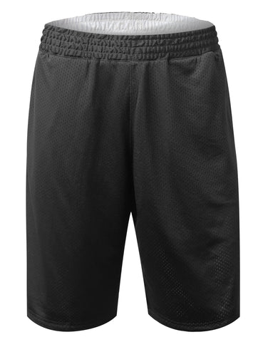 Reversible Mesh Athletic Basketball Shorts