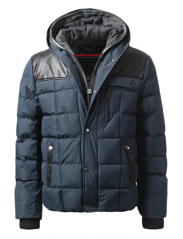 Motts Square Quilted Puffer Jacket