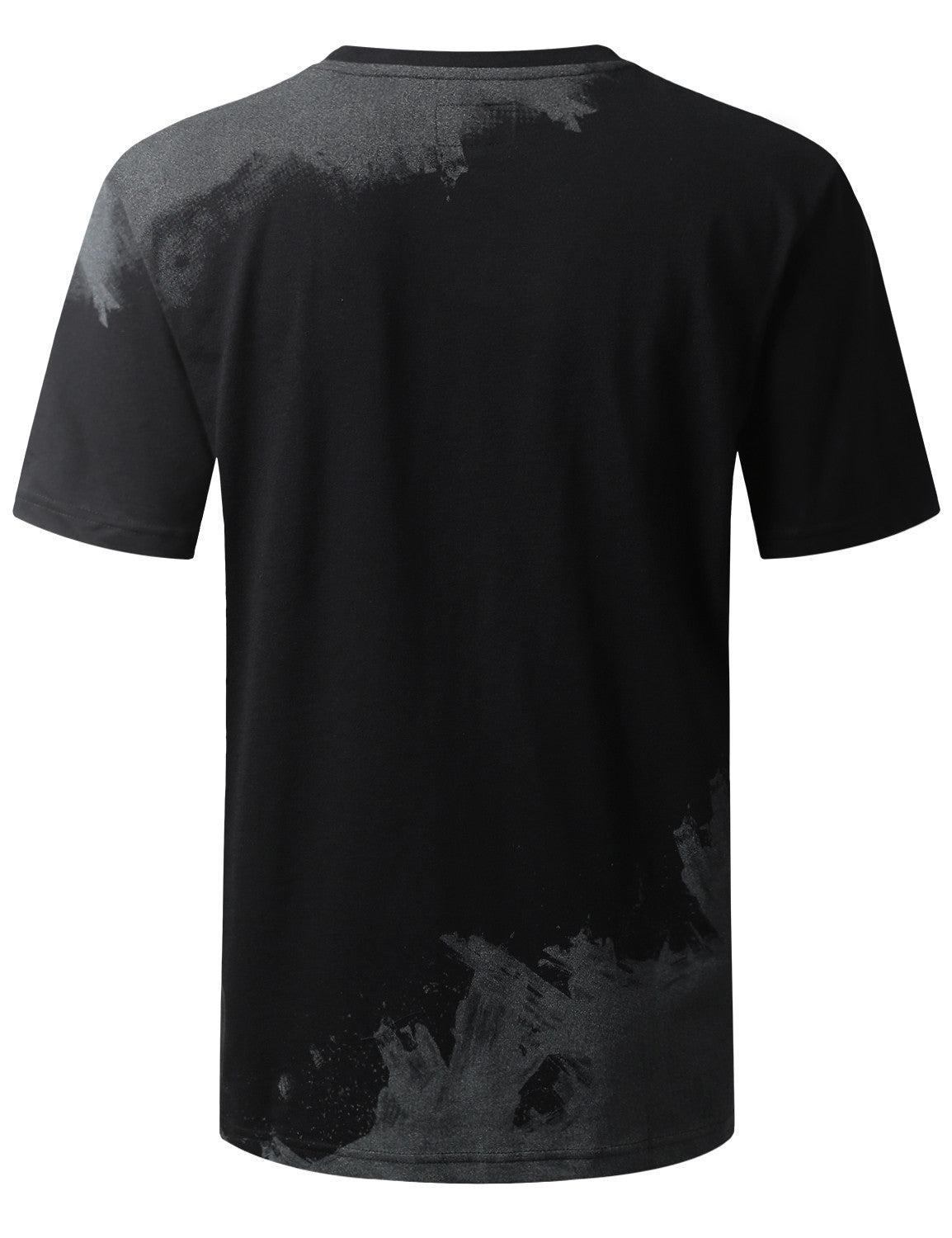 BLACK Fly Graphic Print T-shirt - URBANCREWS