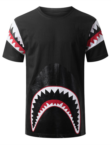 Shark Teeth Graphic T-shirt