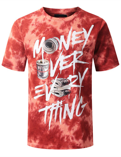"""MONEY OVER EVERYTHING"" Graphic T-shirt"