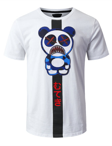 Bear Character Graphic T-shirt