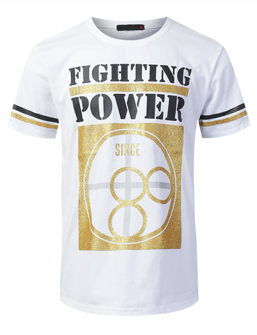"""FIGHTING POWER"" Graphic T-shirt"