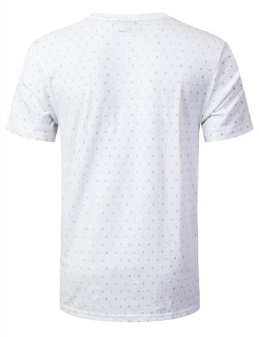 """BOOST LIFE"" Pattern Print Graphic T-shirt"