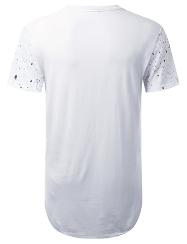 """YouSuck"" Splatter Graphic T-Shirt"