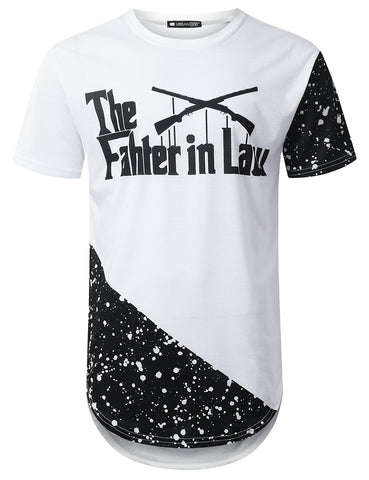 """The Father in Law"" Splatter Graphic T-shirt"