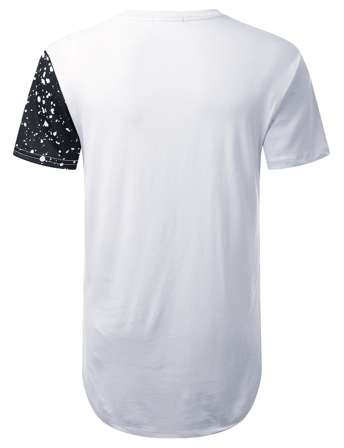 WHITE The Father in Law Splatter Graphic T-shirt - URBANCREWS