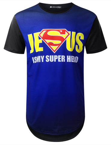 """JESUS"" Faded Graphic T-shirt"