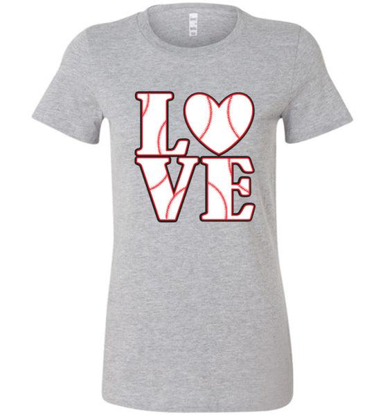 LOVE Baseball Womens Tank or Tee - What Are These? - 7