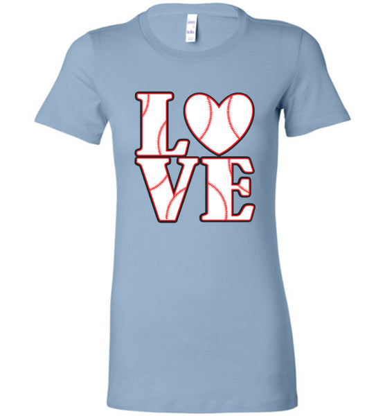 LOVE Baseball Womens Tank or Tee - What Are These? - 8