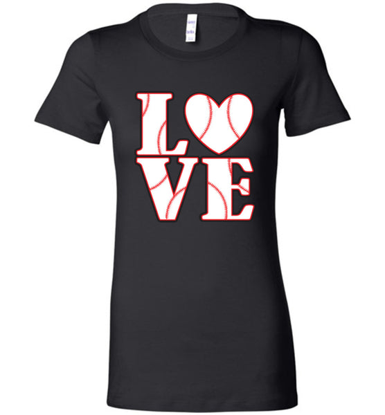 LOVE Baseball Womens Tank or Tee - What Are These? - 9