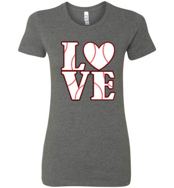 LOVE Baseball Womens Tank or Tee - What Are These? - 10