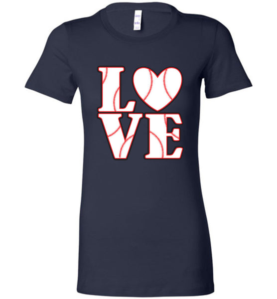 LOVE Baseball Womens Tank or Tee - What Are These? - 11