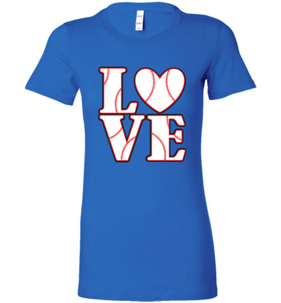 LOVE Baseball Womens Tank or Tee - What Are These? - 13