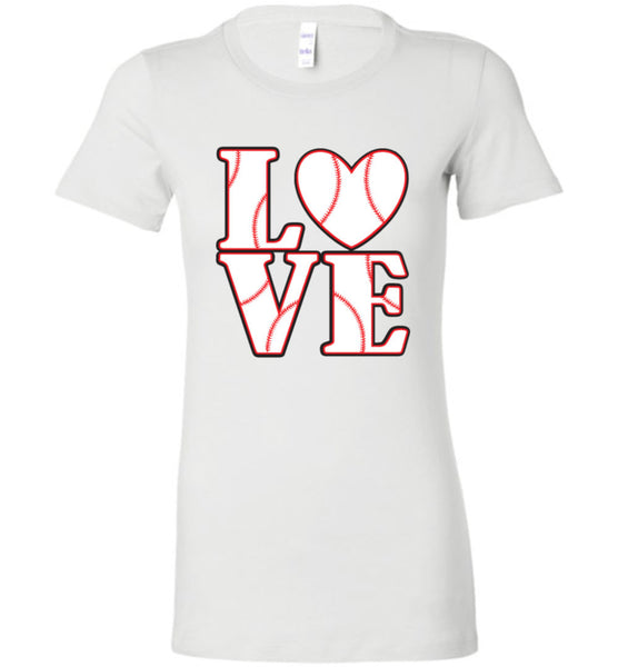 LOVE Baseball Womens Tank or Tee - What Are These? - 6