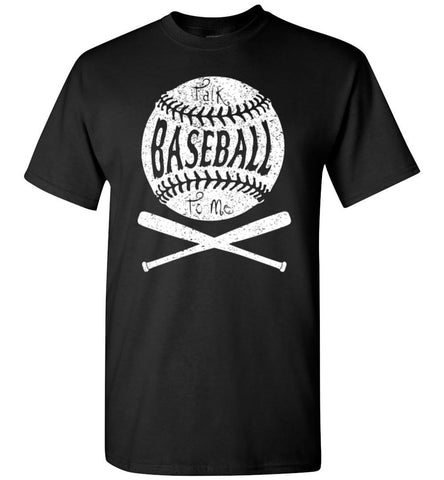Talk Baseball To Me - Unisex T-Shirt - What Are These? - 1