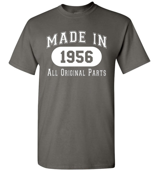 61st Birthday Gift Made in 1956 All Original Parts T-Shirt - What Are These? - 2