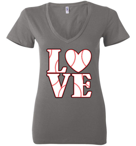 LOVE Baseball Womens Tank or Tee - What Are These? - 15