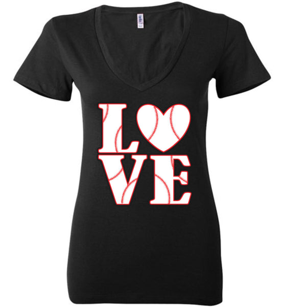 LOVE Baseball Womens Tank or Tee - What Are These? - 16