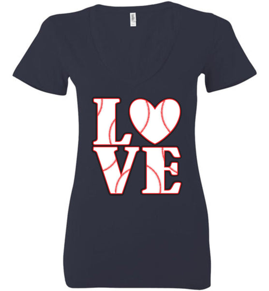 LOVE Baseball Womens Tank or Tee - What Are These? - 17