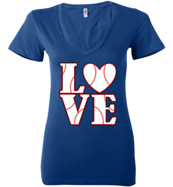 LOVE Baseball Womens Tank or Tee - What Are These? - 18