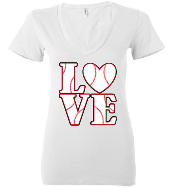 LOVE Baseball Womens Tank or Tee - What Are These? - 14