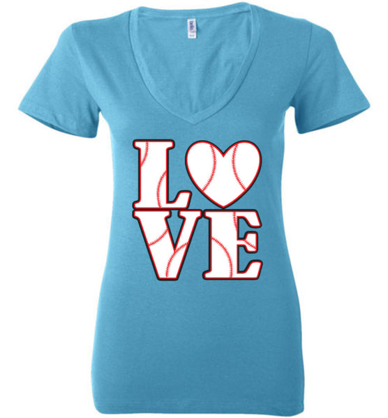 LOVE Baseball Womens Tank or Tee - What Are These? - 19