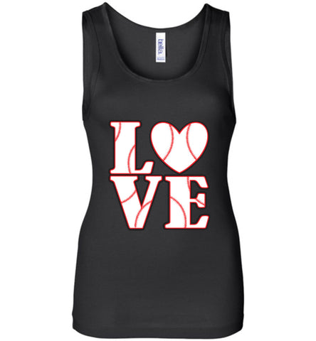 LOVE Baseball Womens Tank or Tee - What Are These? - 1