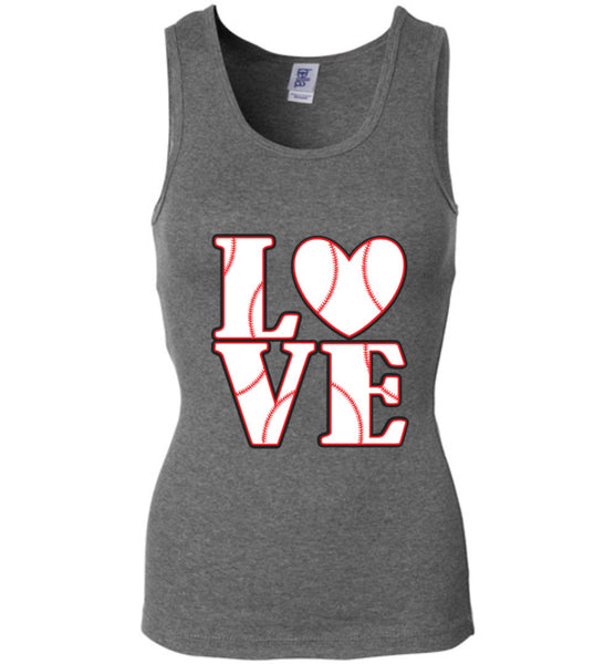 LOVE Baseball Womens Tank or Tee - What Are These? - 3