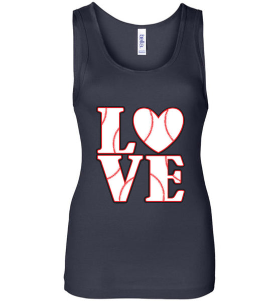 LOVE Baseball Womens Tank or Tee - What Are These? - 4
