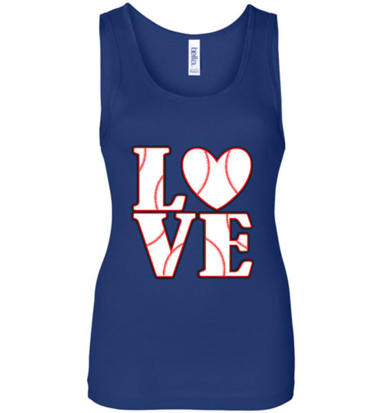 LOVE Baseball Womens Tank or Tee - What Are These? - 5