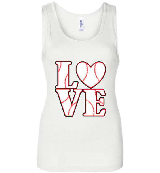 LOVE Baseball Womens Tank or Tee - What Are These? - 2