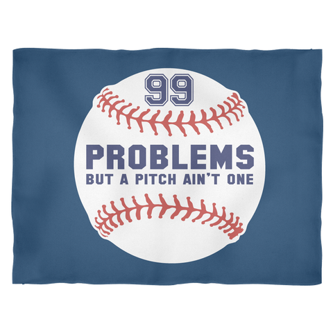 99 Problems - Large Fleece Blanket - What Are These?