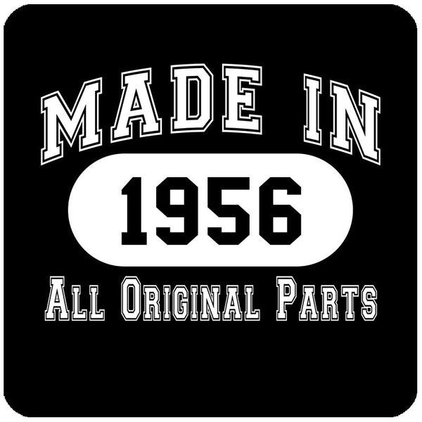 62nd Birthday Gift Made in 1956 All Original Parts Shirt