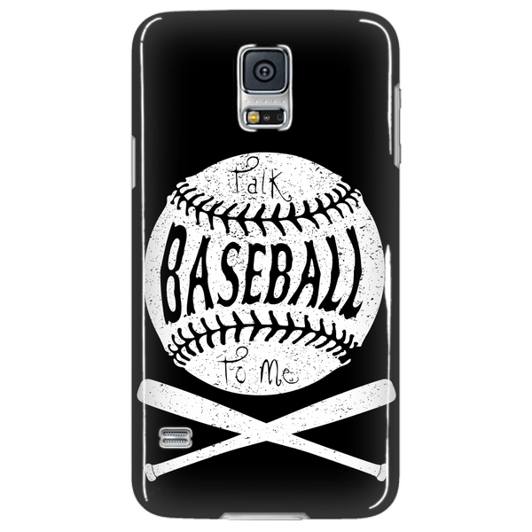 Talk Baseball To Me - Phone Case - Samsung Galaxy s3 s4 Note - Apple iPhone 5 6 - What Are These? - 4