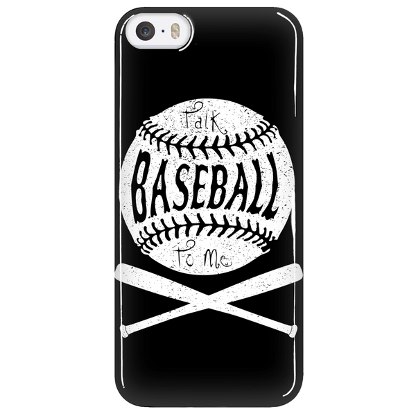 Talk Baseball To Me - Phone Case - Samsung Galaxy s3 s4 Note - Apple iPhone 5 6 - What Are These? - 5