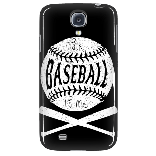 Talk Baseball To Me - Phone Case - Samsung Galaxy s3 s4 Note - Apple iPhone 5 6 - What Are These? - 3