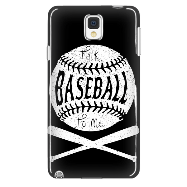 Talk Baseball To Me - Phone Case - Samsung Galaxy s3 s4 Note - Apple iPhone 5 6 - What Are These? - 2