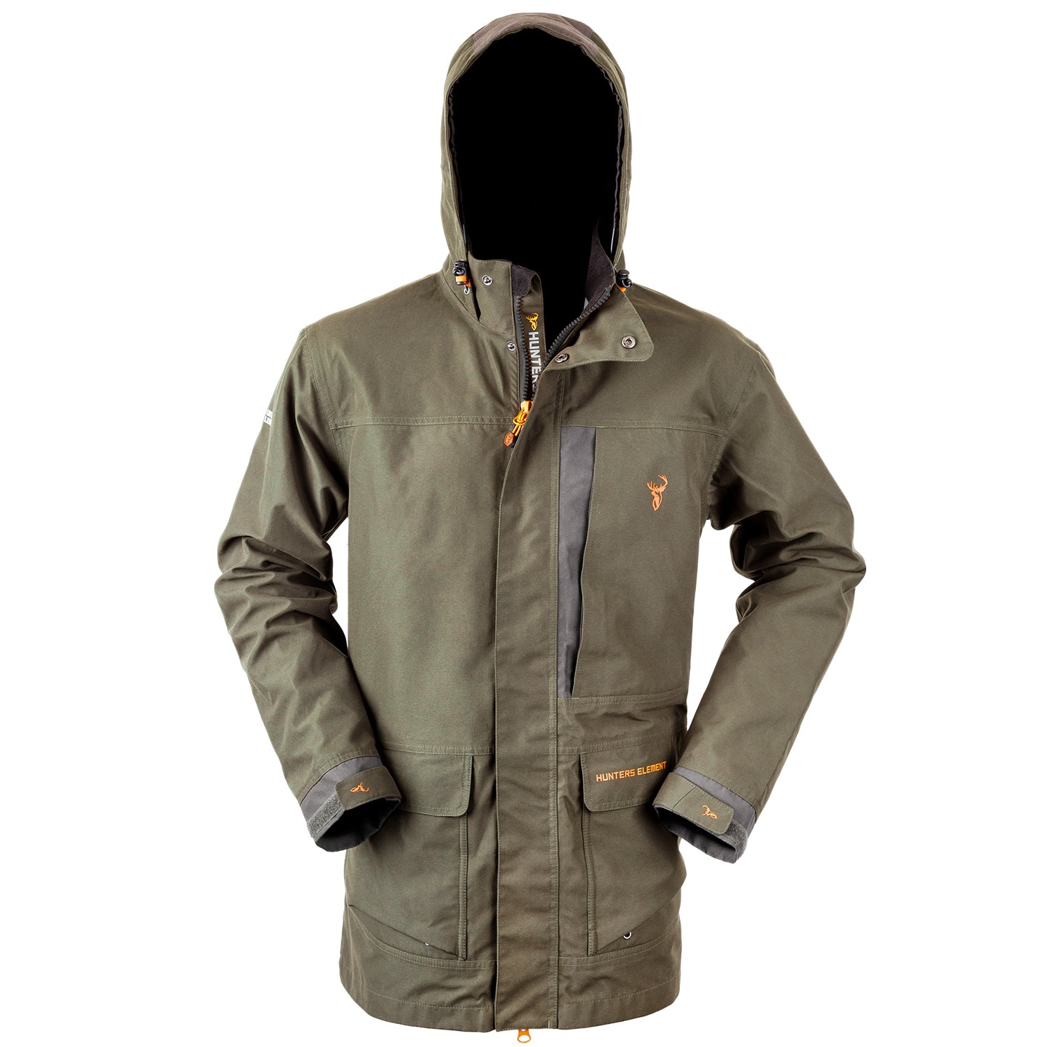 Hunters Element Downpour Elite Jacket - Forest Green