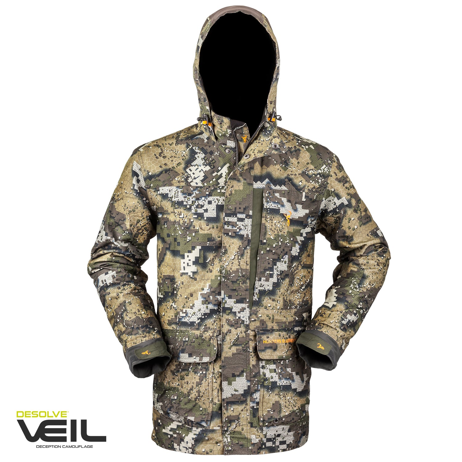 Hunters Element Downpour Elite Jacket - Veil Camo