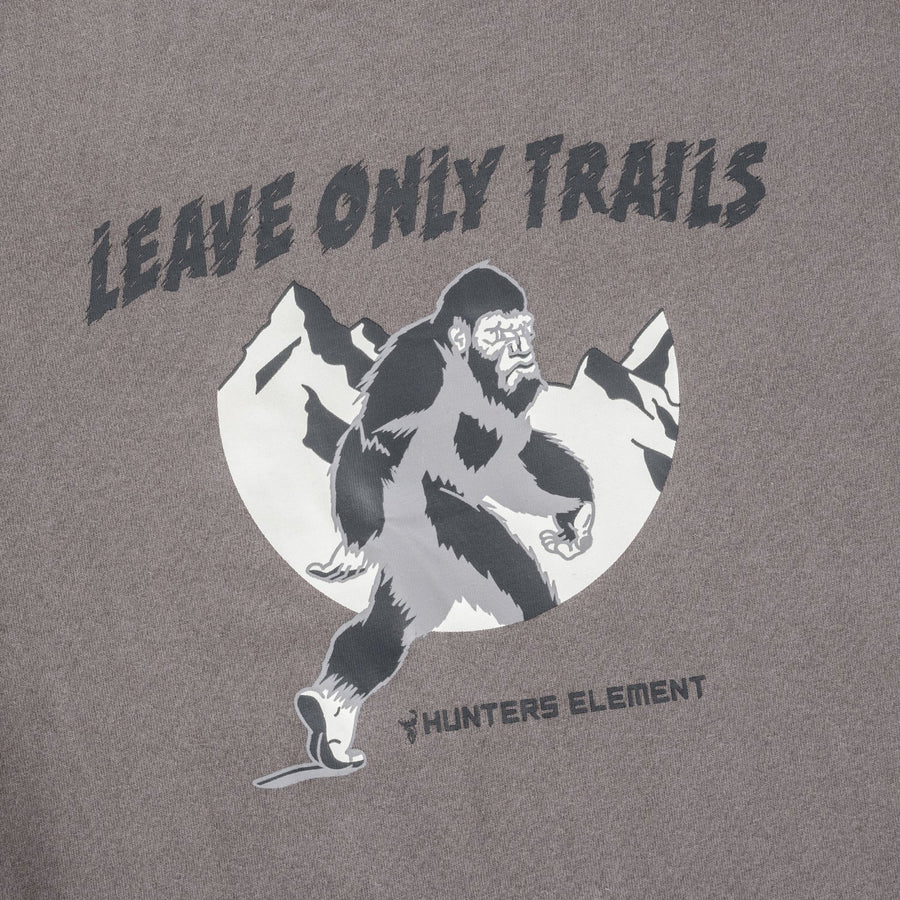 Leave Only Trails LS Tee Kids