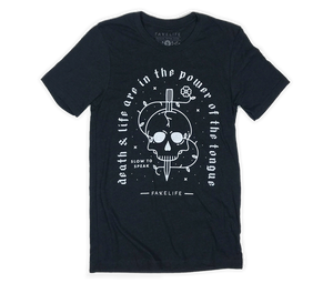 Death And Life Are In The Power Of The Tongue (unisex tri-blend)