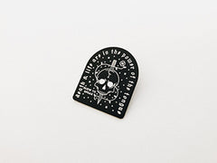 Death & Life Enamel Pin - Fakelife Clothing