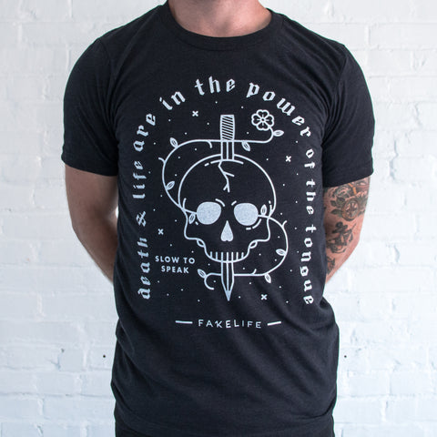 Death And Life Are In The Power Of The Tongue(unisex tri-blend)