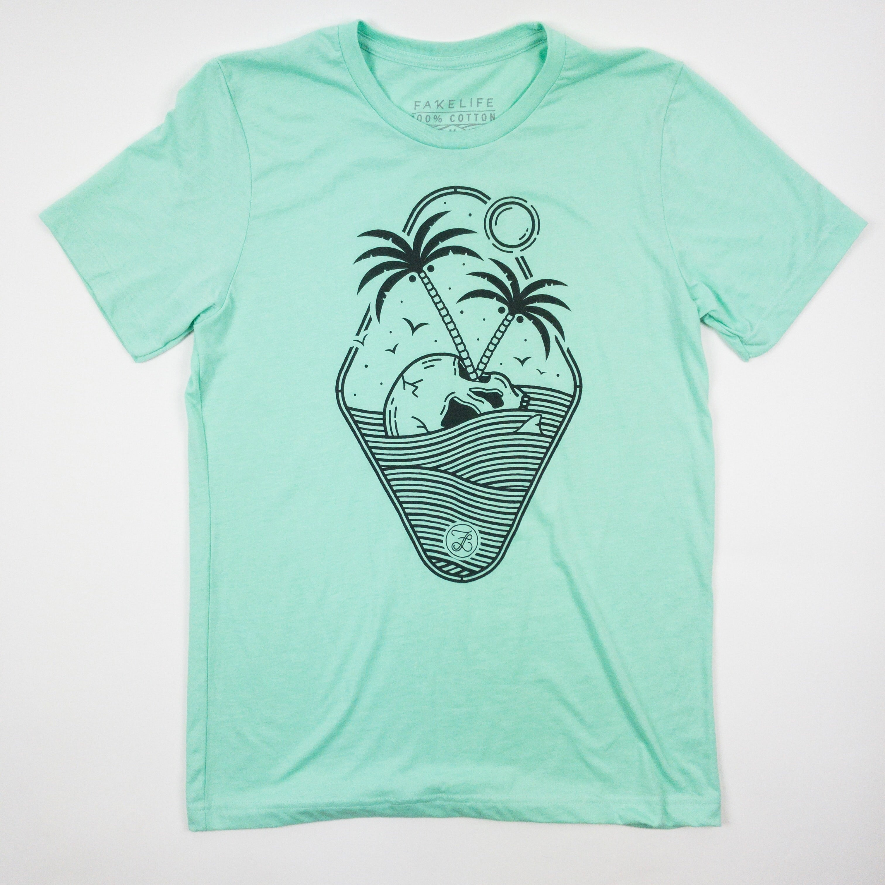 Skull Island Sea Foam Green -SUBSCRIBER ONLY COLOR