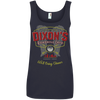 Dixon's Roadkill Cafe - Ladies Ringspun Tank